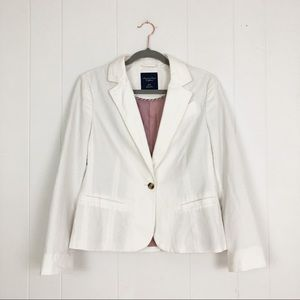 American Eagle Outfitters Cotton Blazer Medium